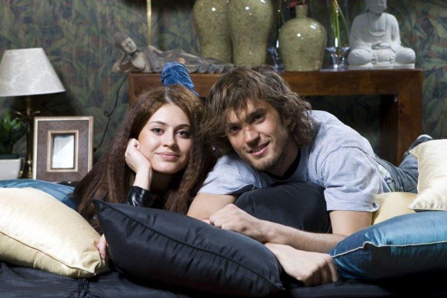Foto naujienai: Gabrielė Kasakaitytė ir Marius Kiltinavičius: mums tiesiog gera kartu...