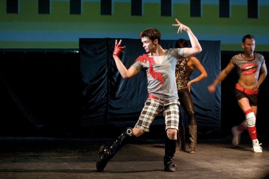 Foto naujienai: Choreografas Šarūnas Kirdeikis: šokio kalba