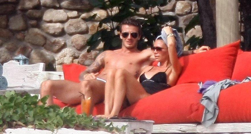 Foto naujienai: Davidas ir Victoria Beckhamai. Medaus mėnuo po 10 metų!