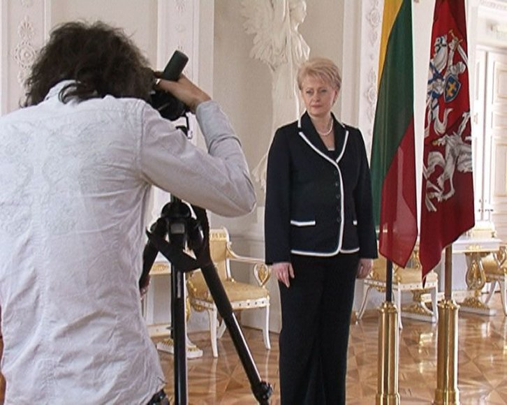 Foto naujienai: Tomas Kauneckas. Prezidentės fotografas