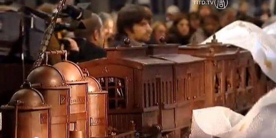 Šokoladinis traukinys