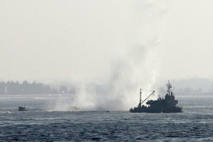 Baltijos jūroje yra likę daugybė karo laikų karinės amunicijos.