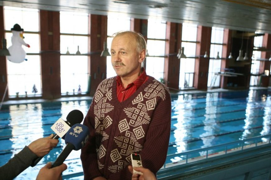 Atleistasis Lazdynų baseino direktorius R.Grigas