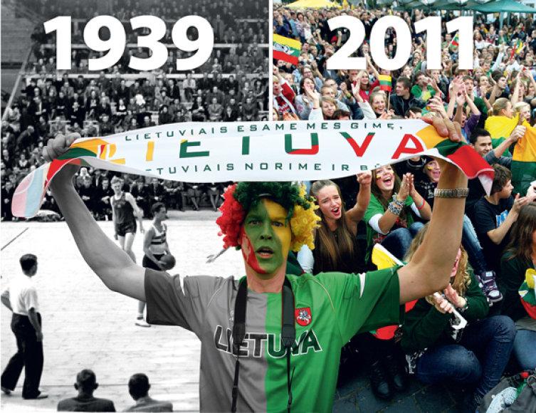 Kaip ir 1939-ųjų gegužę, taip ir šių metų rugpjūtį – rugsėjį Lietuva rengia Europos vyrų krepšinio čempionatą.