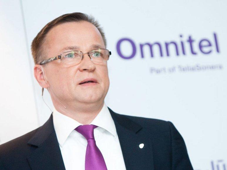 """Omnitel"" prezidentas Antanas Zabulis"