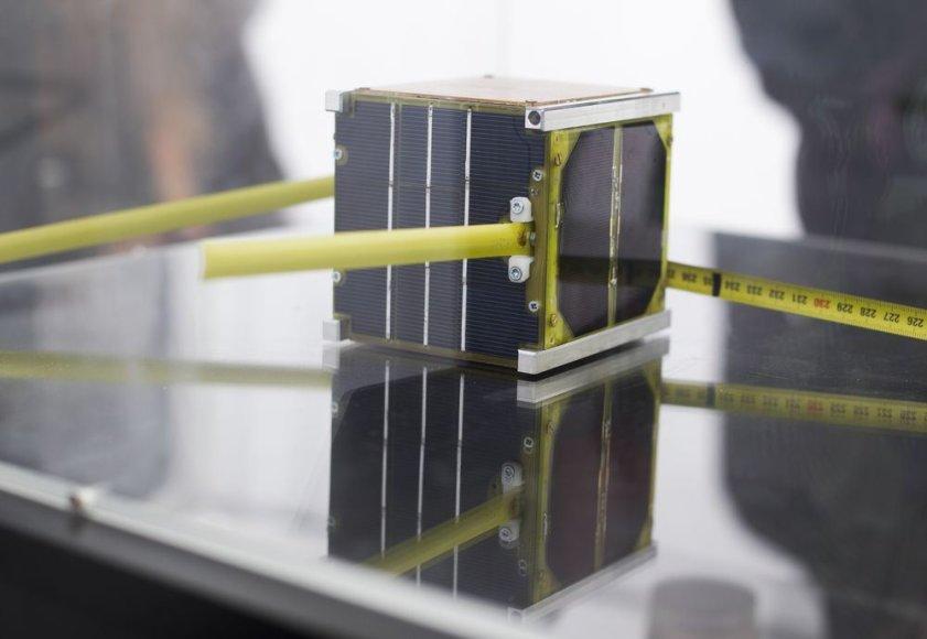 """Parodos """"European Space Expo"""" lankytojams pristatomas pirmasis lietuviškas palydovas """"LitSat-1"""""""