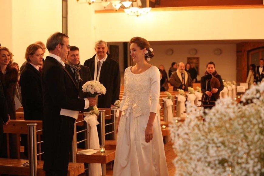 Annikos Haas nuotr./Toomo Hendriko Ilveso ir Ievos Kupces vestuvės