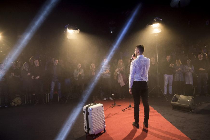 """Mindaugo Kulbio nuotr./Manto Stonkaus humoro šou """"Kultas"""""""