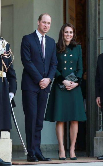 """""""Scanpix""""/""""SIPA"""" nuotr./Princas Williamas ir hercogienė Catherine"""