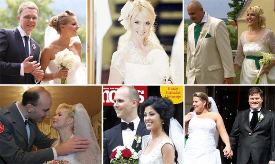 Lietuvos garsenybių vestuvės 2011-aisiais