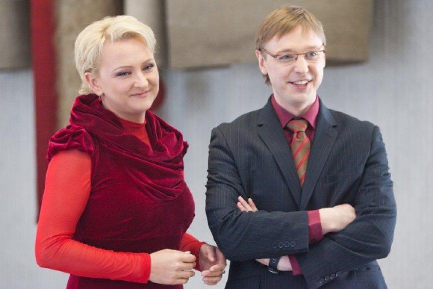 Inga Norkutė ir Aurimas Žvinys