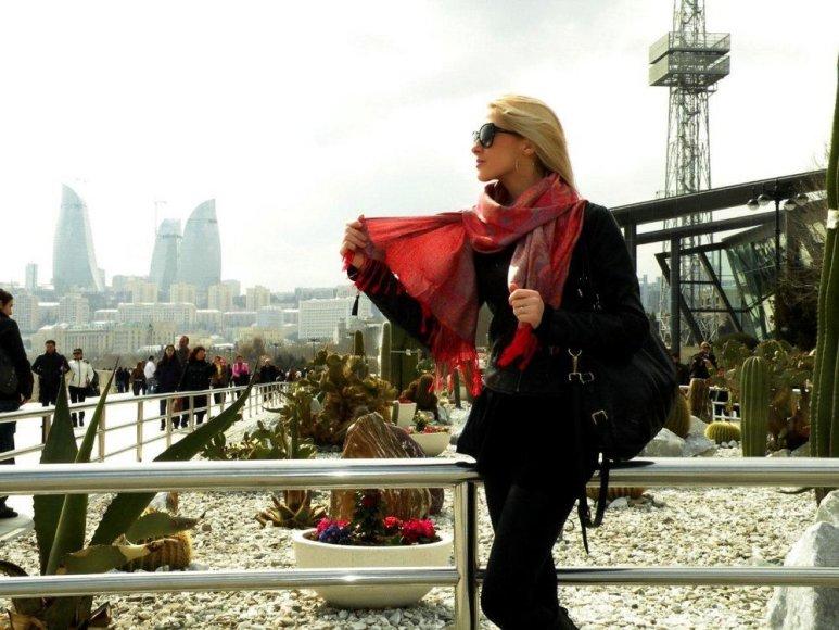 Kristina Ivanova Azerbaidžane