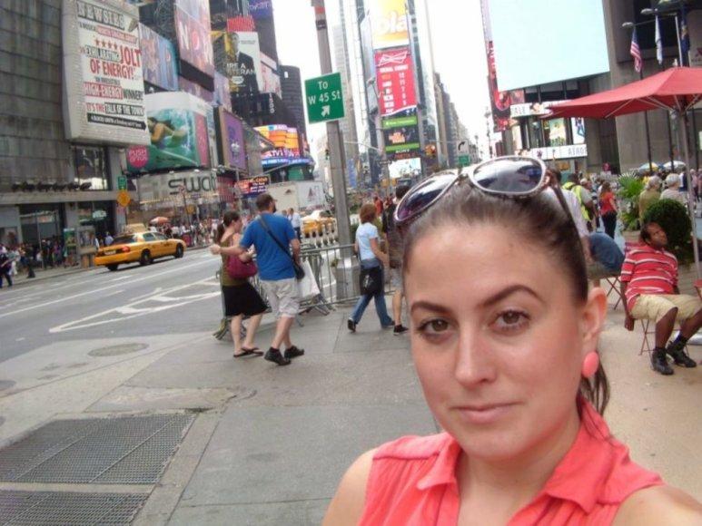 Julija Jegorova Niujorke