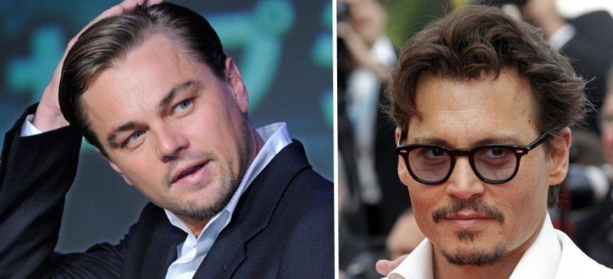 Leonardo DiCaprio ir Johny Deppas