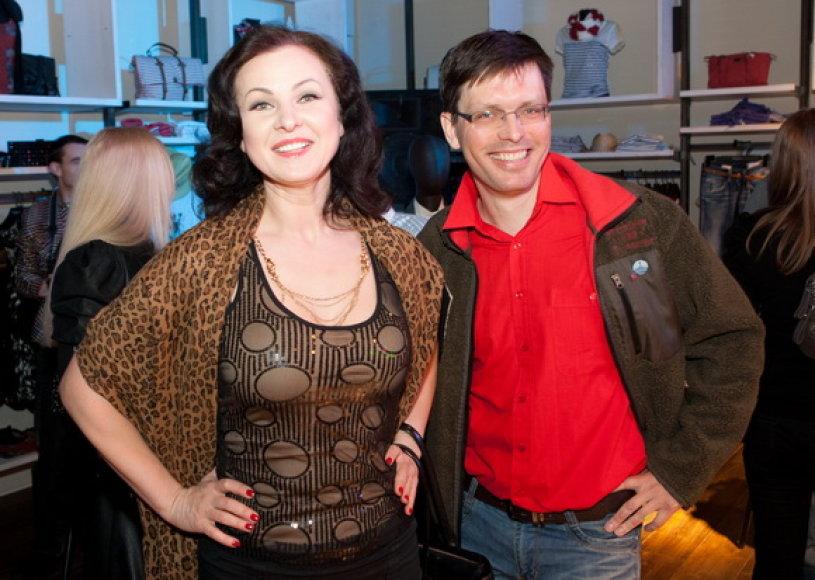 Eglija Vaitkevičė-Fergie ir Laimas Fergizas