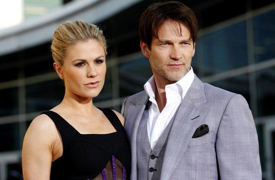 Anna Paquin ir jos sutuoktinis Stephenas Moyeris