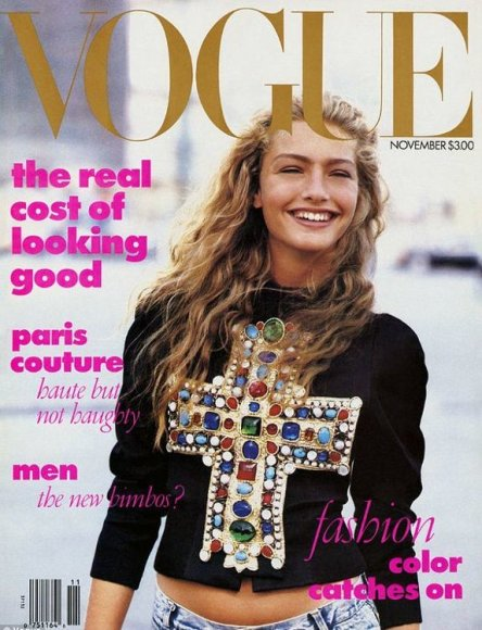"1988-ųjų ""Vogue"" su Michaela Bercu"