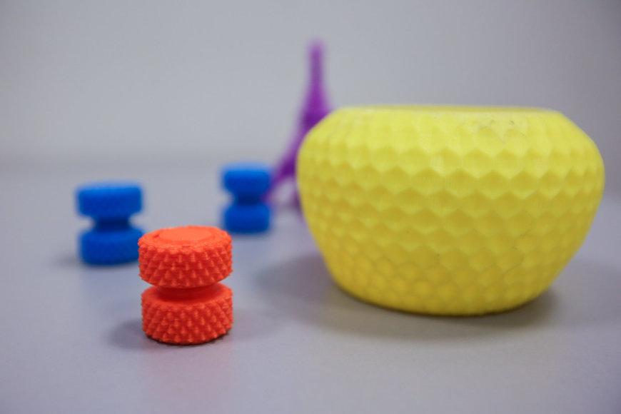 Juliaus Kalinsko/15min.lt nuotr./3D spausdintuvu pagaminti daiktai