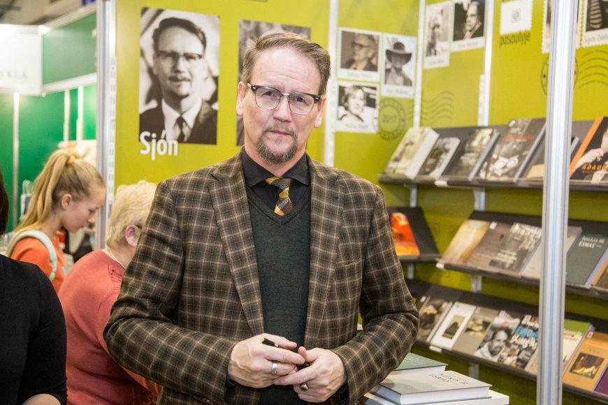 Juliaus Kalinsko / 15min nuotr./Islandų rašytojas Sjonas
