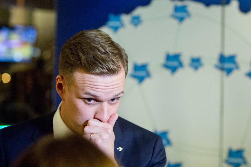Juliaus Kalinsko / 15min nuotr./Tėvynės sąjungos – Lietuvos krikščionių demokratų rinkimų štabe