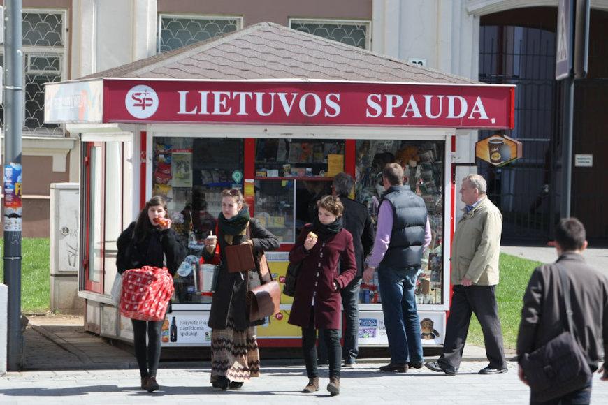Lietuvos spauda kioskas