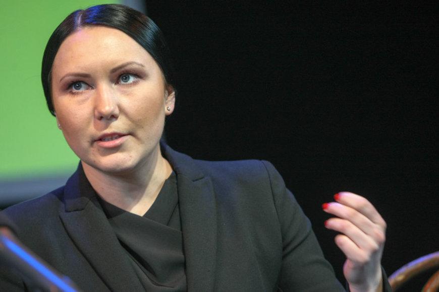 Vilniaus mažojo teatro vadovė Greta Cholina