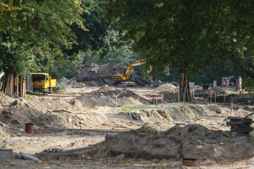 Sereikiškių parkas rekonstrukcija