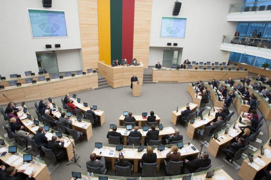Seimo posėdis