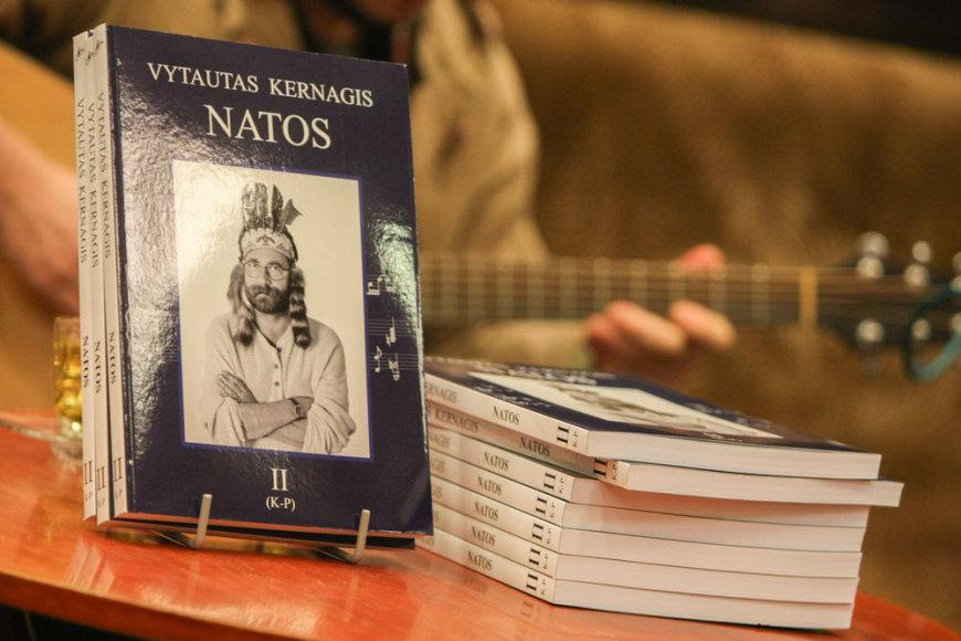 """Natų rinktinės """"Vytautas Kernagis. Natos"""" antrojo tomo pristatymas"""
