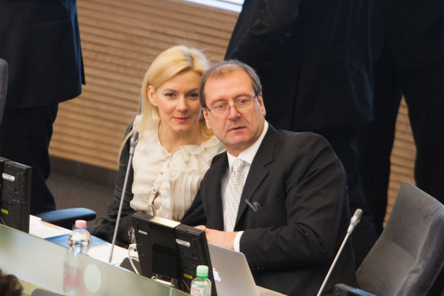 Vitalija Vonžutaitė ir Viktoras Uspaskihas