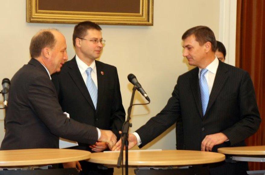 Baltijos valstybių ministrai pirmininkai