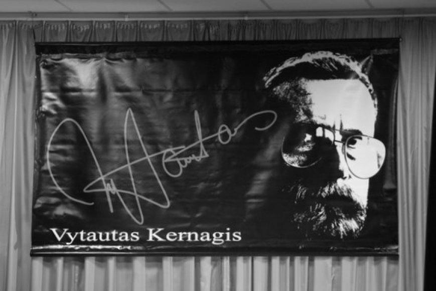"""Mokykloje, kurioje Vytautas Kernagis mokėsi, buvo pristatyta Rūtos Oginskaitės knyga apie maestro – """"Nes nežinojau, kad tu nežinai""""."""