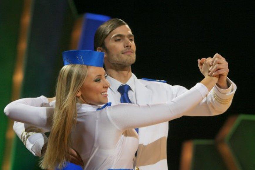 Marius Kiltinavičius ir Eglė Straleckaitė
