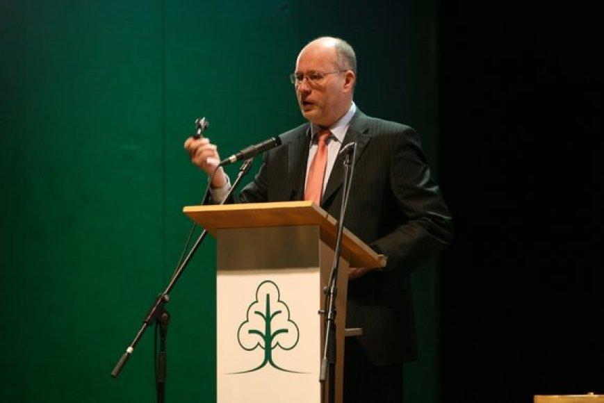 Krikščionių partijos pirmininkas Gediminas Vagnorius