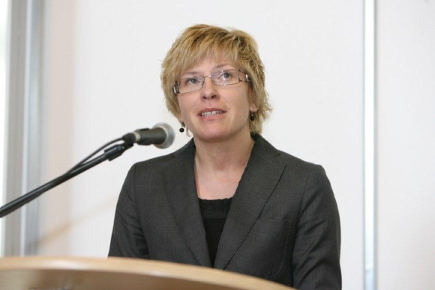 Finansų ministrė Ingrida Šimonytė