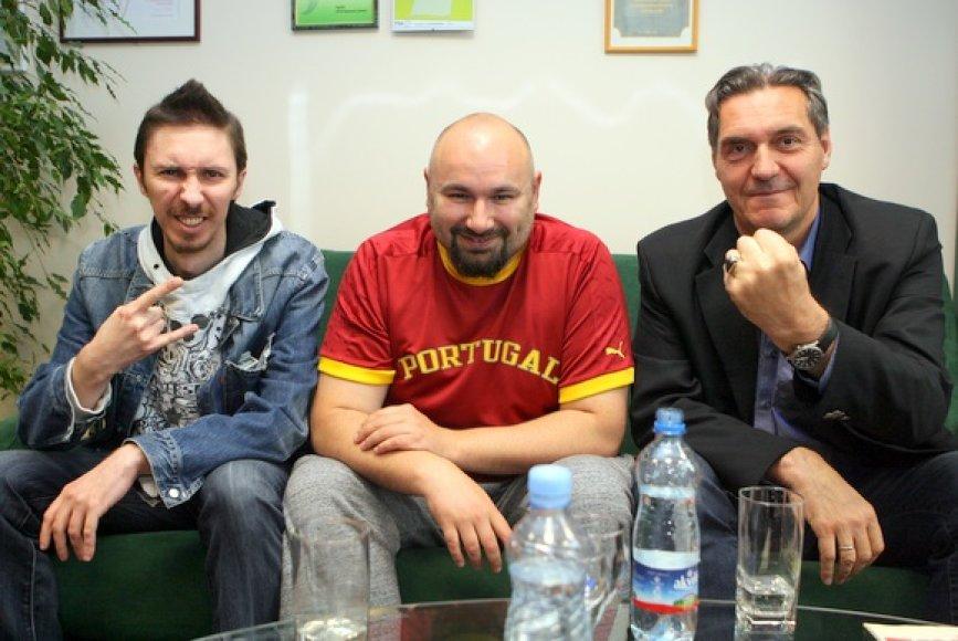 Marius Berenis, Gidonas Šapiro ir Algirdas Kaušpėdas
