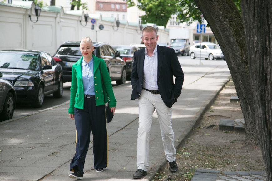 Juliaus Kalinsko / 15min nuotr./Lina Rastokaitė ir Džiugas Siaurusaitis