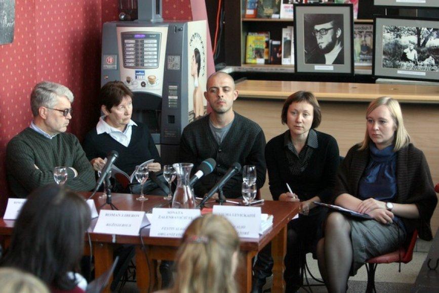 Vilniaus dokumentinių filmų festivalio atidarymo spaudos konferencija