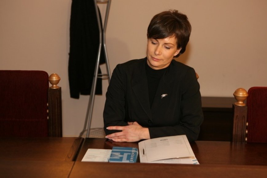 Į posėdį atvyko tik Generalinės prokuratūros prokurorė D.Nikitinienė.