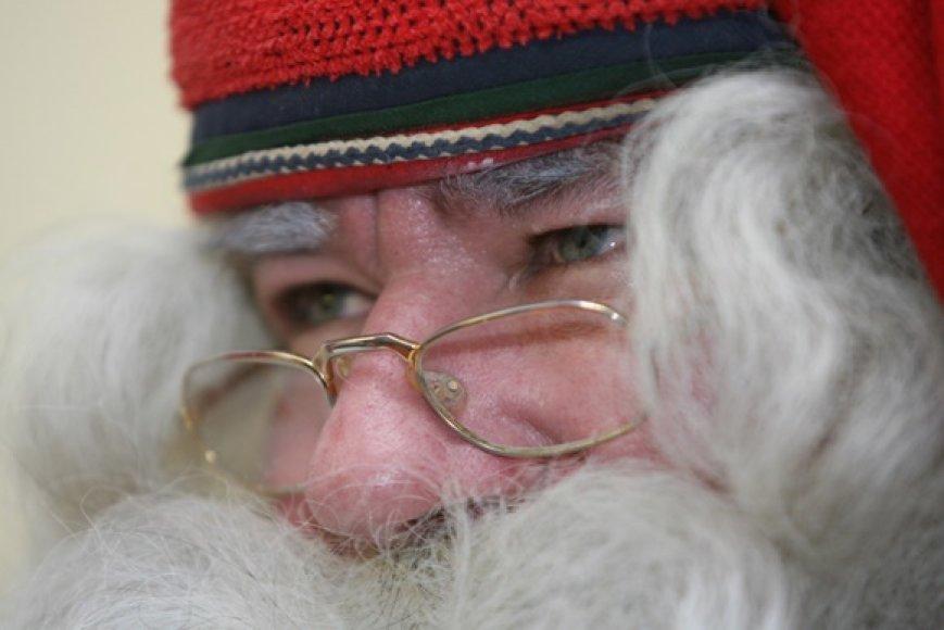 Kalėdų Senelis atskrido į Lietuvą