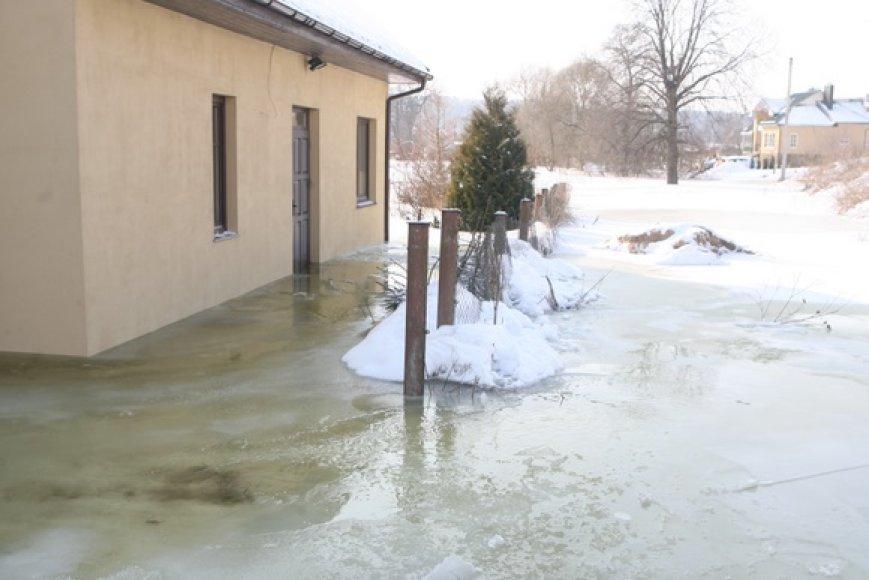 Potvynis Grigiškėse