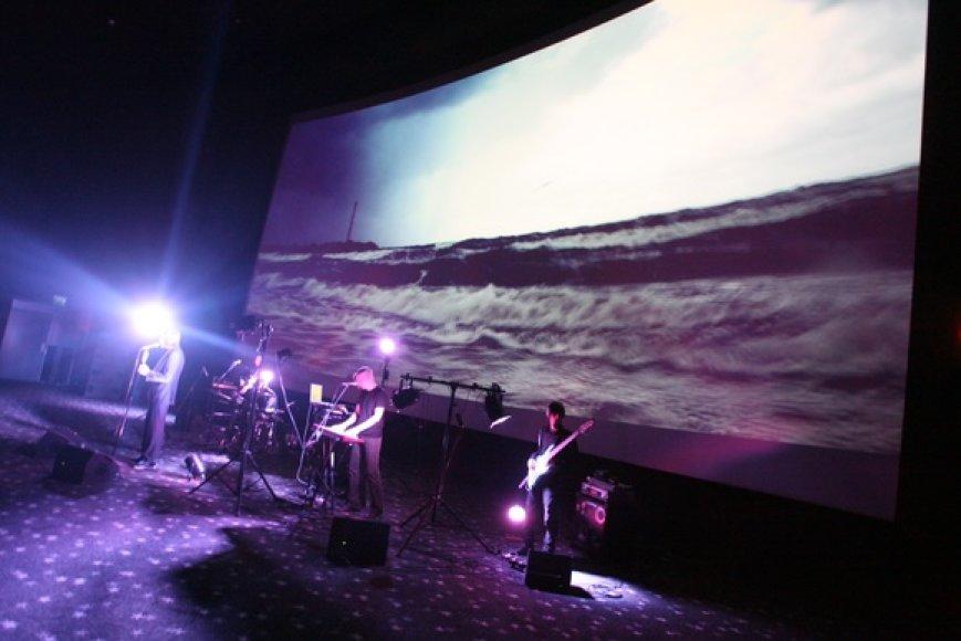3D koncerto akimirkos