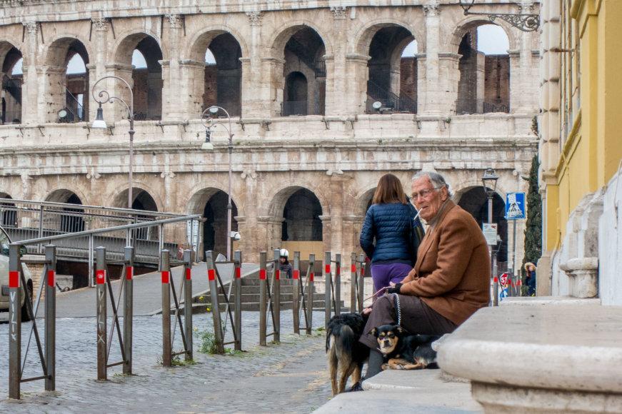 Juliaus Kalinsko / 15min nuotr./Gyvenimas Romoje