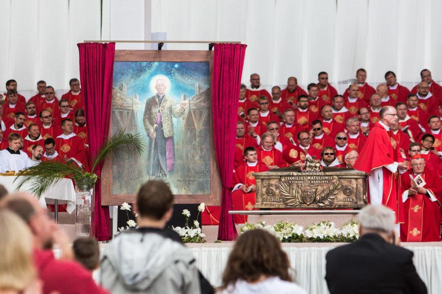 Juliaus Kalinsko / 15min nuotr./Teofiliaus Matulionio beatifikacija
