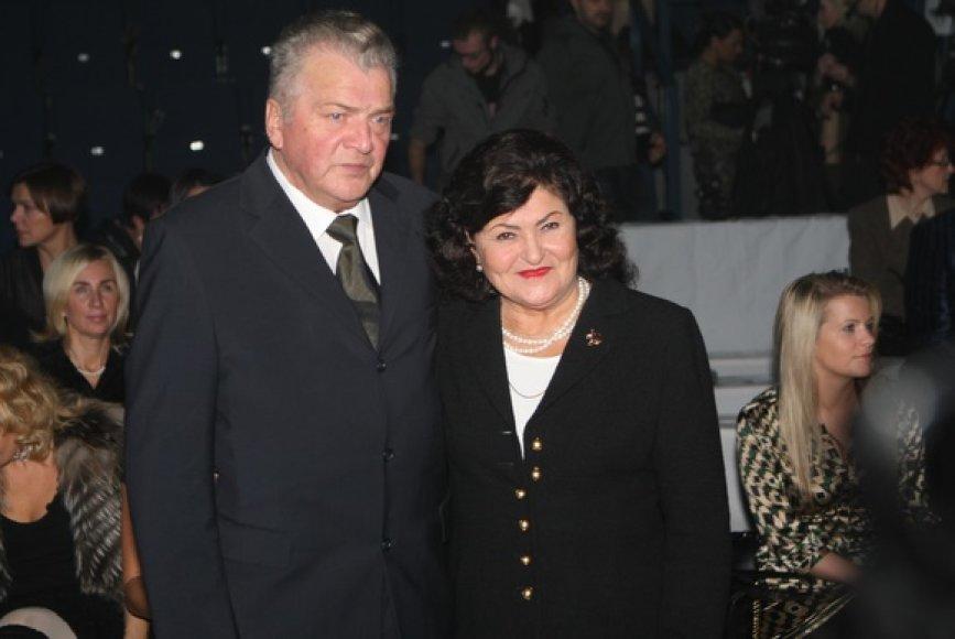 Juozo Statkevičiaus tėvai Vanda ir Juozas Statkevičiai