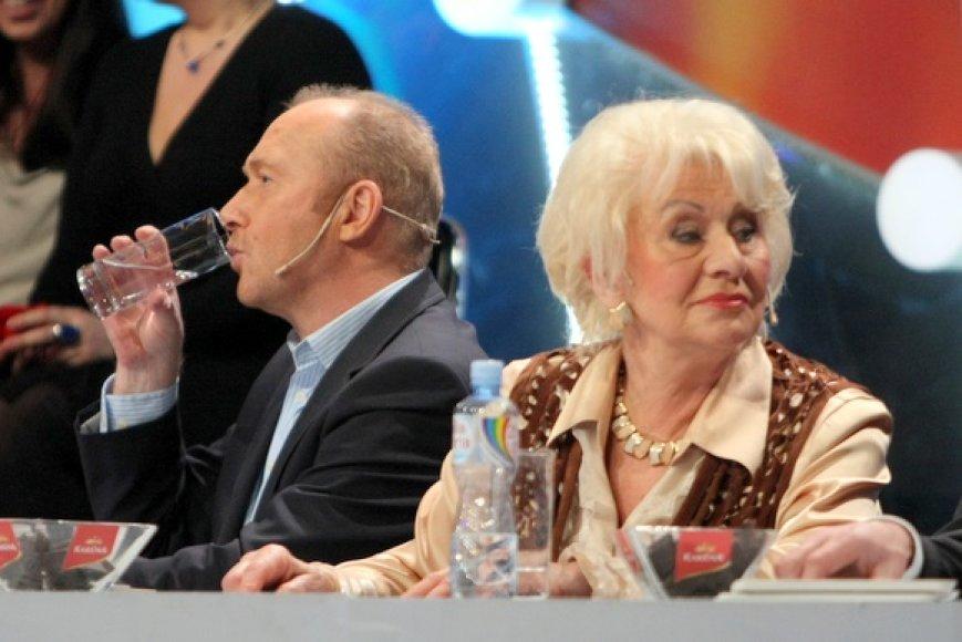 Jurijus Smoriginas ir Jūratė Norvaišienė