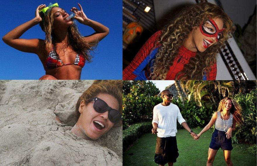 Beyonce paviešino asmenines nuotraukas