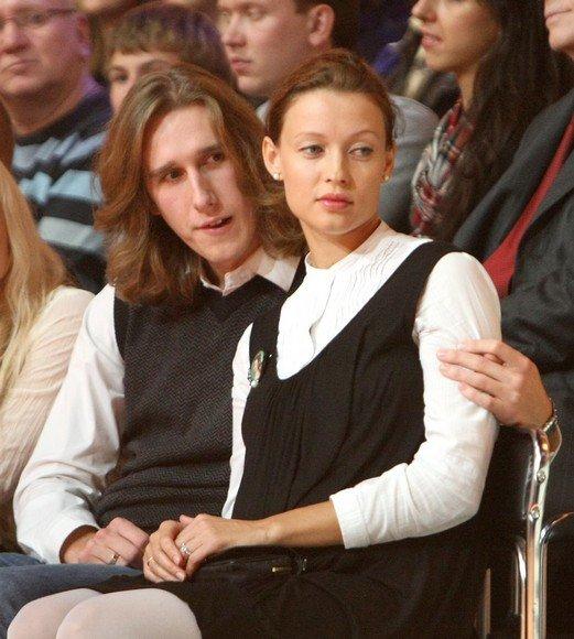 Romanas Čeburiakas su žmona Aiste