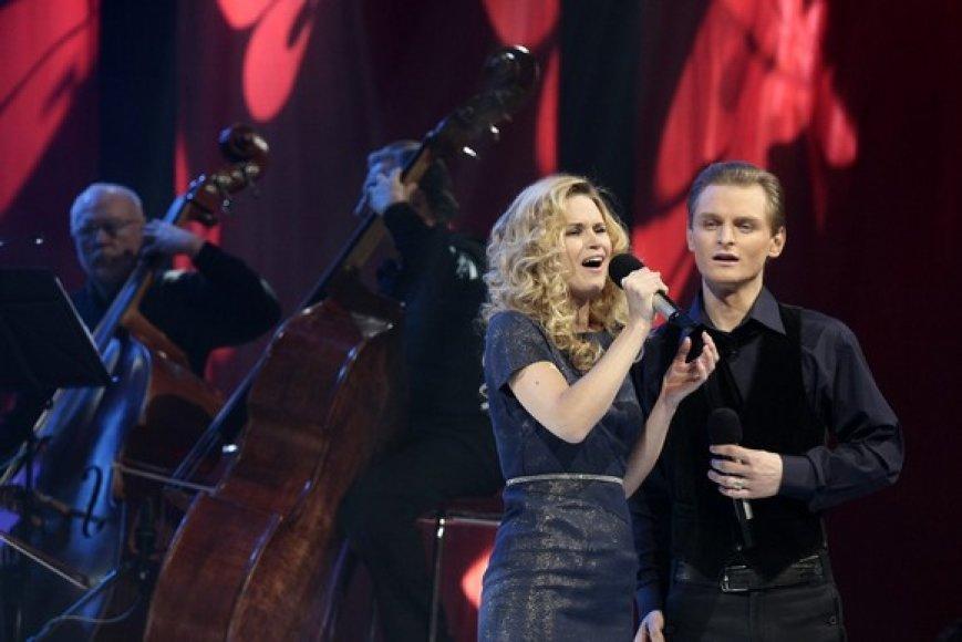 Ona Kolobovaitė ir Liudas Mikalauskas