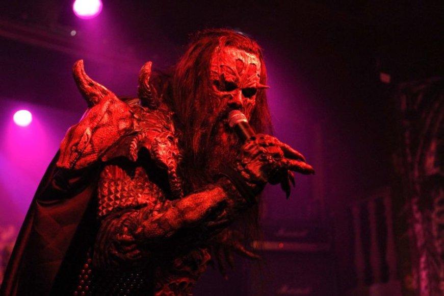 """Grupės """"Lordi"""" koncerto akimirka"""